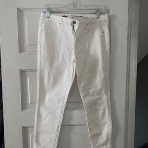 Mossimo white jeans